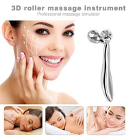 Face Body Massager Artifact Of Roller Machine Thin Face Double Chin Lean Muscle 3D Massage Ball