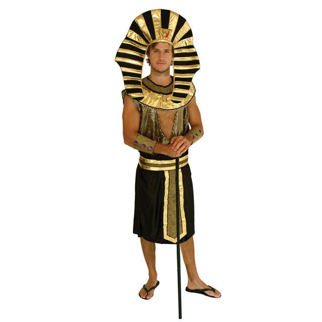 Rei Tut faraó egípcio adulto fantasias de carnaval trajes de halloween para homens fantasia fantasia vestido de festa