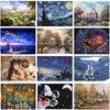 12 Types Noctilucent Puzzle 1000 Pieces Adult Kids Jigsaw Puzzle Toys Landscape Cartoon Pattern Children Educational