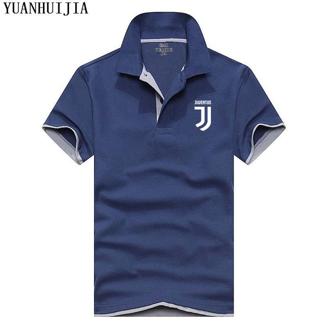 Newest Arrival brand Polo Shirts Men Summer printing Juventus Polo Fashion Casual Short Sleeve Men polo homme men clothes 2018