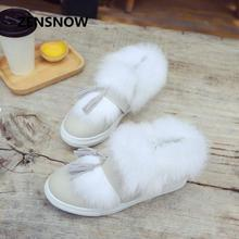 2017 New Winter Boots Pure Short Women Shoes And Boots Suede Fringed Shoes