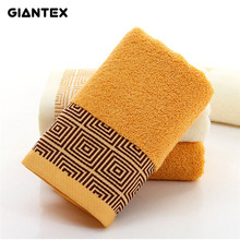 GIANTEX Soft Bamboo Fiber Face Towel For Adults Thick Bathroom Super Absorbent Towel 34x74cm U1149
