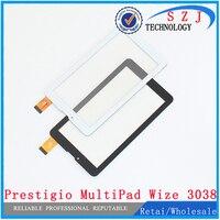 New 7'' inch touch screen Prestigio MultiPad Wize 3038 3G PMT3038 Touch panel Digitizer Glass Sensor Free Shipping 10pcs/lot