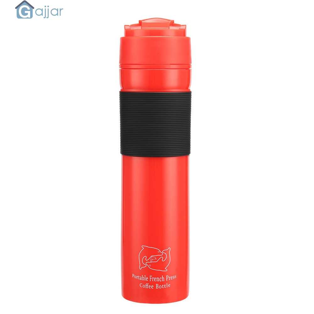 2019 New Portable French Press Coffee Maker Travel Mug Manual Patent Plunger   19APR3