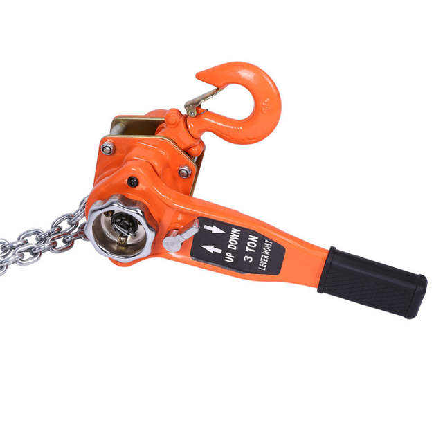 US $35 01 13% OFF Chain Block Chain Hoist Ratchet Hoist Lever Hoist Pulley  System Chain Left Bottle Left Lifting Weight 3T 1 5T 0 75T-in Tool Parts