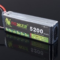 High Quality Lipo 3S Battery 11.1v 5200mAh 30C LION POWER for RC Helicopter Car Boat Quadcopter Battery Accessories RC Toys