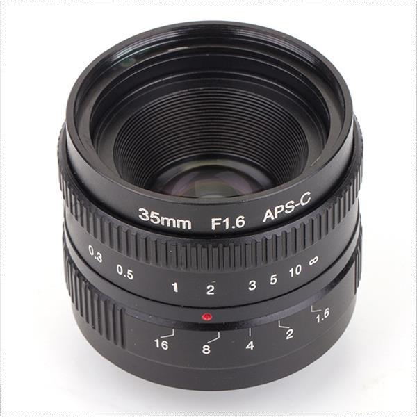 mirrorless 35mm F1.6 C-Mount lens For APS-C Camera M4/3 FX EOSM N1 P/Q J1 V2 J3 V3 E-P1 E-PL1 G1 GF1 GH1 NEX-3 NEX-5 NEX-7 M3 M2 kaxinda metal 35mm f 1 7 lens for m4 3 nex fx eosm n1 p q e1 aps c mirrorless