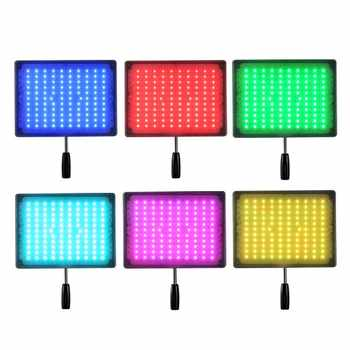 YONGNUO YN600 RGB 5500K ultra-thin LED Video Light Photographic Lighting with Remote Control Studio Lighting + AC Adapter