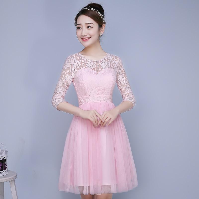Pth zxc4 model show 2016 new spring bridesmaids dresses for Short spring wedding dresses
