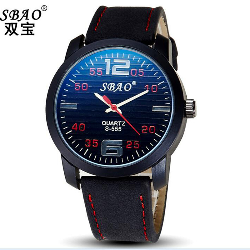 <font><b>The</b></font> New Watch <font><b>Blu-Ray</b></font> Business Quartz Scrub Leather Belt Fashion Men's Watches Leisure Sports