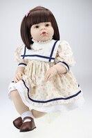 28 70 см Силиконовые для новорожденных, для девочек куклы liefelike младенец получивший новую жизнь Мягкая силиконовая виниловые куклы для девоч