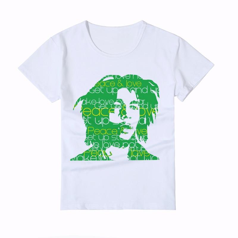 Fashion New Bob Marley Kids T Shirts Summer Style Bob Marley Boy/Girl/Baby Head Printed T-shirts Teen Tops Tee Y3-1