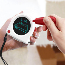 5M Tape Measures Liquid Crystal Display Measuring Tape for Woodworking Measurement LCD Tablet Tape Digital Measuring Tape