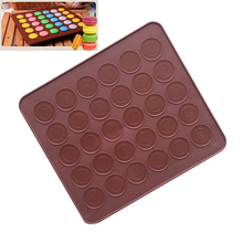 Eco-friendly Silicone Pastry Muffin Cake Macaroon Oven Baking Mold Sheet Mat Cake make mold For