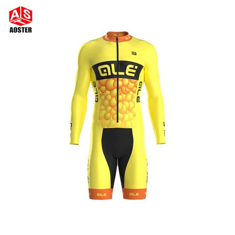 Prix pour 2016 Hommes de Sport à Manches longues skinsuit Cyclisme Vélo Jersey Vélo Shirt Vélo Cycle Vêtements VTT Ropa Ciclismo Bicicleta