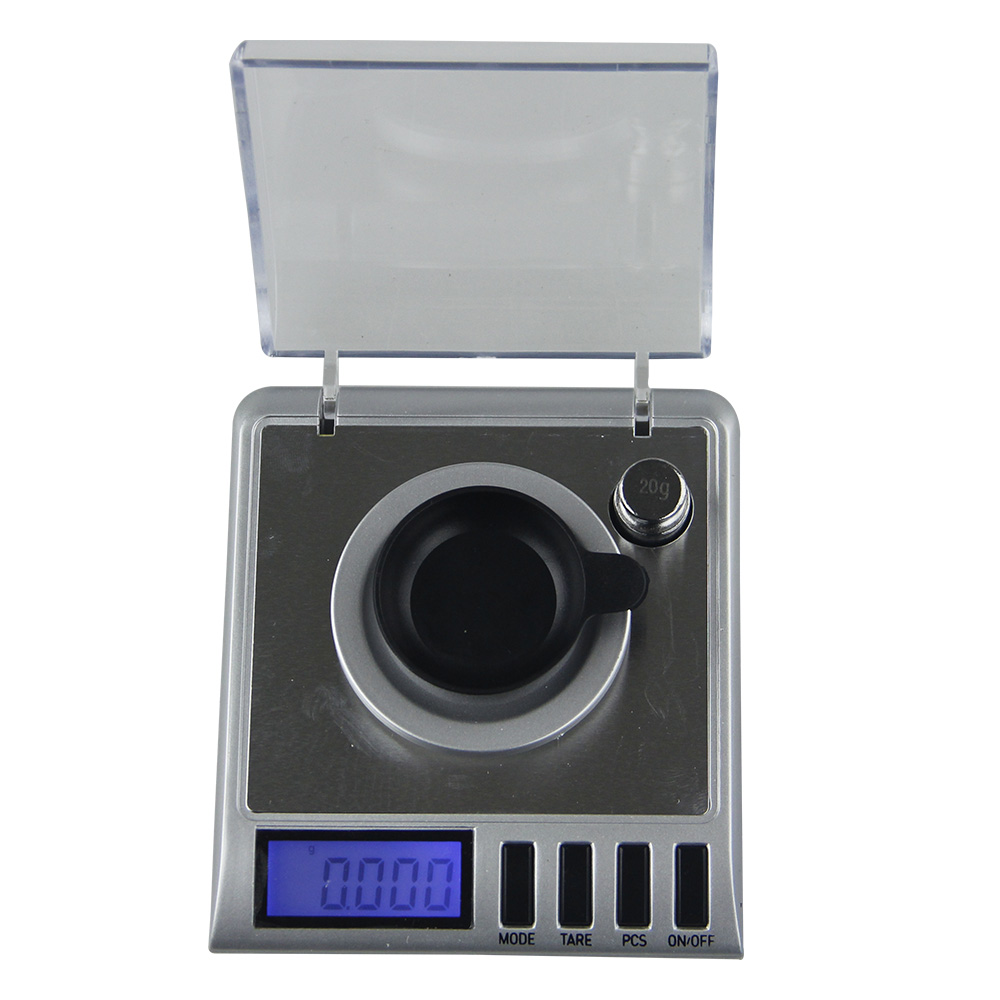 50g 0.001g Mini Electronic Digital Scale Weighing Medicinal High Precision 0.001g Pocket Digital Scale Weighing Balance newacalox 50g 0 001g portable mini jewelry scales lab weight high precision scale medicinal use lcd digital electronic balance
