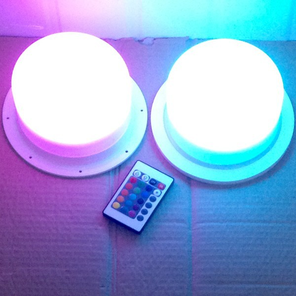 Wireless Battery Operated Rgb White Red