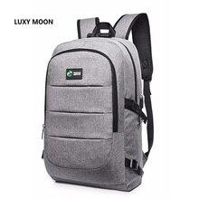 Luxy Moon Top Men Women's General Purpose Double Shoulder Anti-theft Backpack Nylon Waterproof Password Lock Bag School Bag