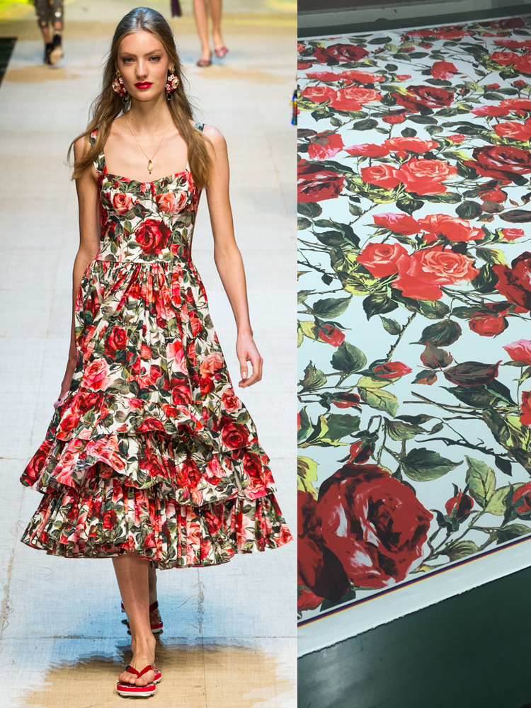 2018 digital printing fabric women s pattern stock spring and summer European and American wallpaper pattern