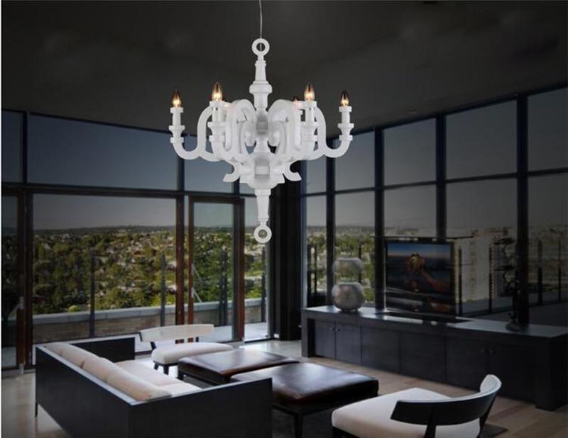Moderne witte hars verlichting, mooie opknoping lampen voor ...