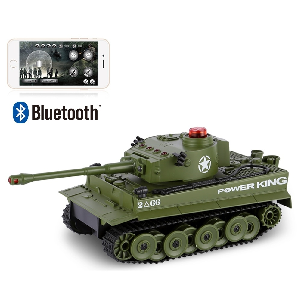 RC Fighting Battle Tank 1 32 Phone Control Simulated Panzer Mini Battling Tank Remote Control Toys