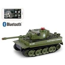 RC боевой танк 1:32 телефон управление имитация Panzer мини боевой танк дистанционное управление игрушки для детей