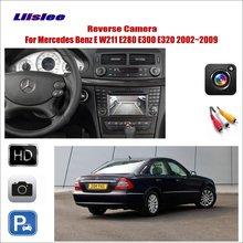 Liislee Car Reverse Rear View Camera For Mercedes Benz E W211 E280 E300 E320 / Connect The Original Factory Screen RCA Adapter
