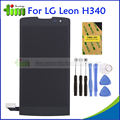 Запасные Части Для Lg Leon H340 H320 H324 H340N H326 MS345 C50 ЖК-Дисплей + Сенсорный Экран Планшета Ассамблея Черный + Инструменты