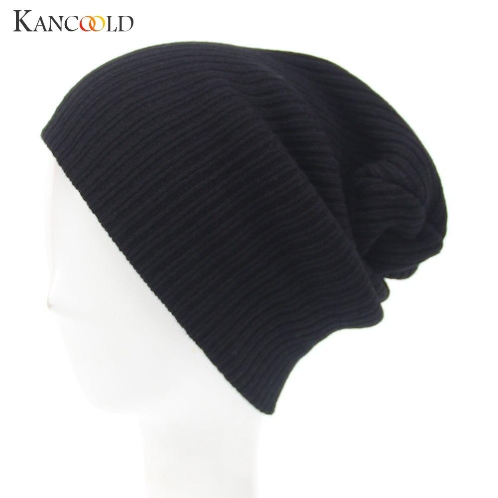 KANCOOLD Hat Men's Women Beanie Knit Ski Cap Hip-Hop Winter Warm Unisex Wool Hat High Quality Fashion Casual Hat Women 2018NOV15