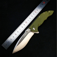 SRM 0954 Folding Knife G10 handle Unlocked double ball Bearing hunting camping Pocket Survival EDC Tool 8Cr13MoV blade knives