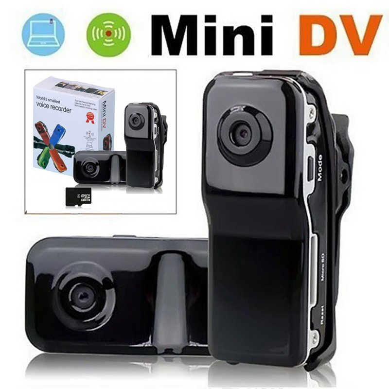 MD80 Mini Camera Support Net-Camera Car DV Record Camcorder Support TF Card 720*480 Video Lasting Recording
