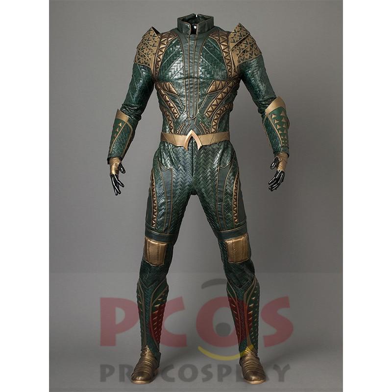 Procosplay Justice League Pellicola Aquaman Arthur Curry Cosplay Costume e Senza Scarpe mp003660