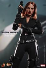 1/6 scale figure doll Scarlett Johansson Black Widow Captain America 12″ action figure doll Collectible Figure Model Toys 3.0
