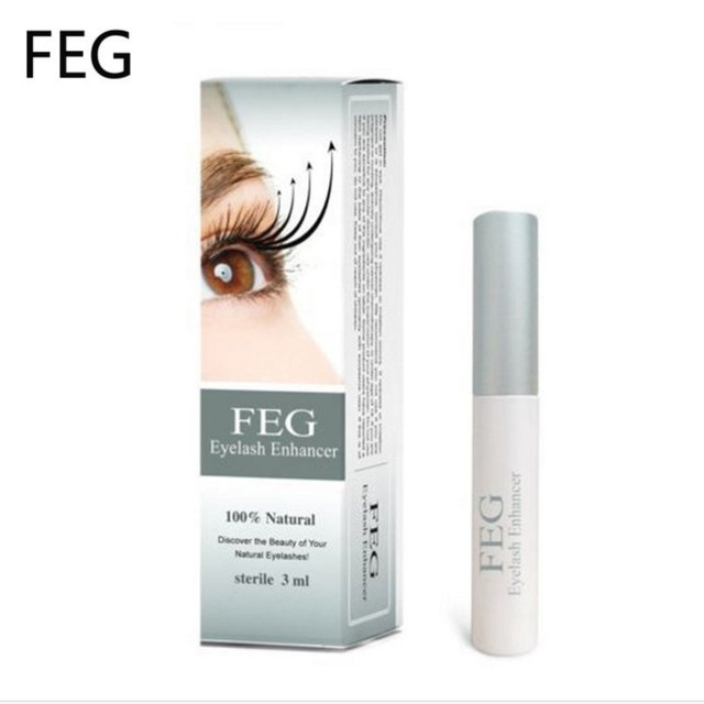 FEG Eyelash Growth Enhancer Natural Medicine Treatments Lash Eye Lashes Serum Mascara Eyelash Serum Lengthening Eyebrow Growth 4