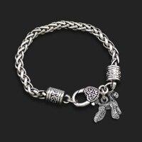 Teamer Фирменная Новинка Dsign10pcs много цинковый сплав металла Пудель Собака животных браслеты с подвесками