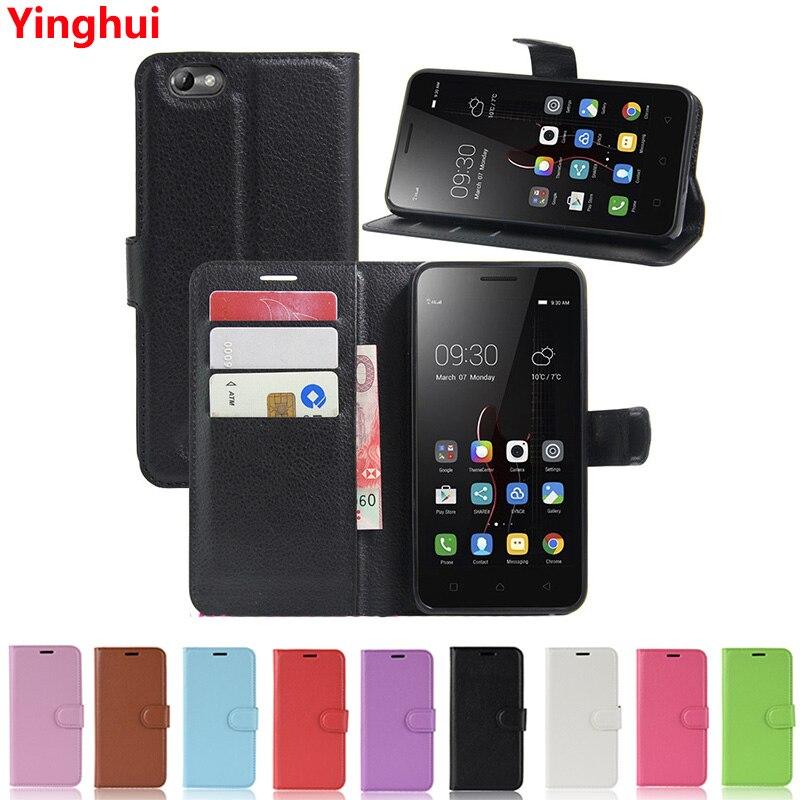 Book Style Pocket Case For Lenovo Vibe C2 A2020 K5 Note ZUK Z2 Pro S1 Lite S5 Flip Wallet Leather Card Holder Phone Case Cover