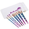 Nuevo 7 UNIDS Kit de Maquillaje Set Herramientas de Cosméticos Cepillos + Bolso de la Lona