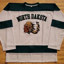 Rare North Dakota Fighting Sioux Hockey Jersey Embroidery Stitched  Customize any number and name Jerseys( 79ba16128