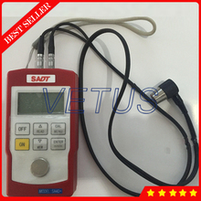 Big discount SADT SA40 +4 digits LCD Ultrasonic Thickness Gauge with 0.7~300.0mm range in steel