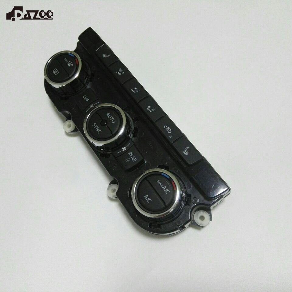 DAZOO New Original Automatique Air-Conditioner Switch Air Conditionné Panneau Commutateur Pour Passat B7 561907044 AH/T/ S