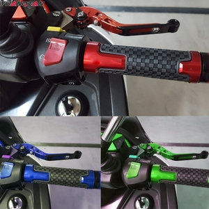 Image 5 - For YAMAHA YZF R1 1999 2003 YZF R6 1999 2004 Motorcycle Accessories handle handlebar grips ends Folding Brake Clutch Levers