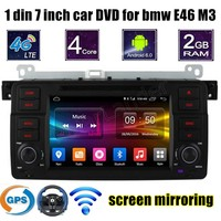1 Din Car Video 7 Inch For BMW E46 M3 Radio DVD Player GPS Screen Mirroring