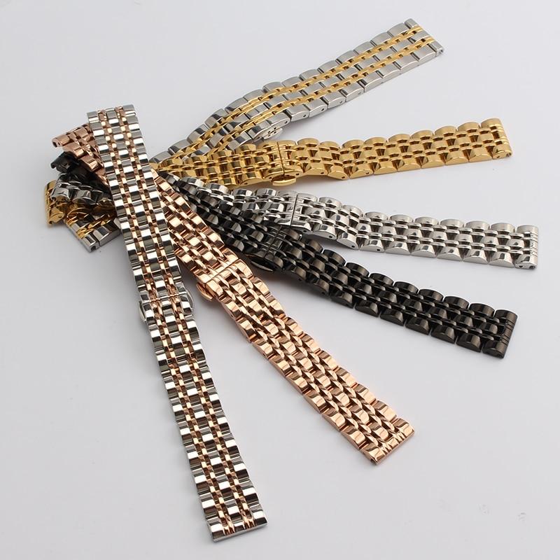 Náramek z nerezavějící oceli s pevným kovovým náramkem - Příslušenství k hodinkám - Fotografie 3