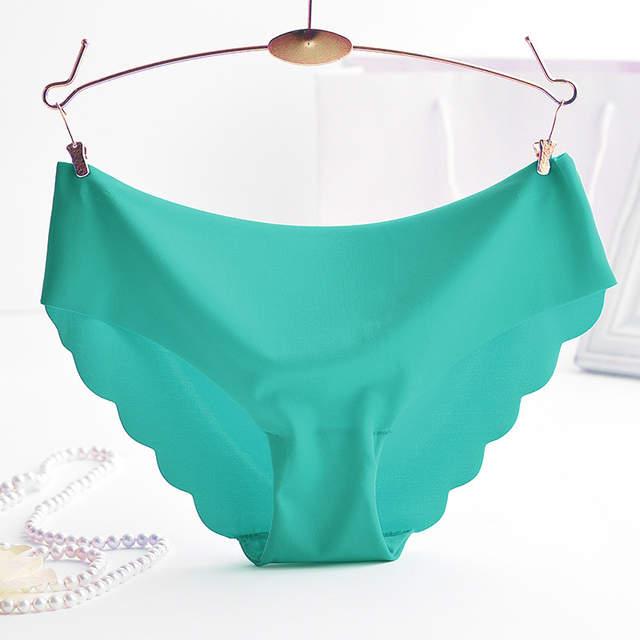e733143e34f9 € 2.01  Mujeres Ruffles Sexy Meryl Bragas Invisibles Niñas Lencería  Escritos de Mediados de Cintura Bragas Bragas Pantalones Ropa Interior  HC1829 en ...