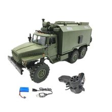 1/16 WPL B36 Ural 1/16 2.4G 6WD RC Car Military Truck Rock Crawler Command Communication Vehicle RTR Toy Auto Army Trucks(China)