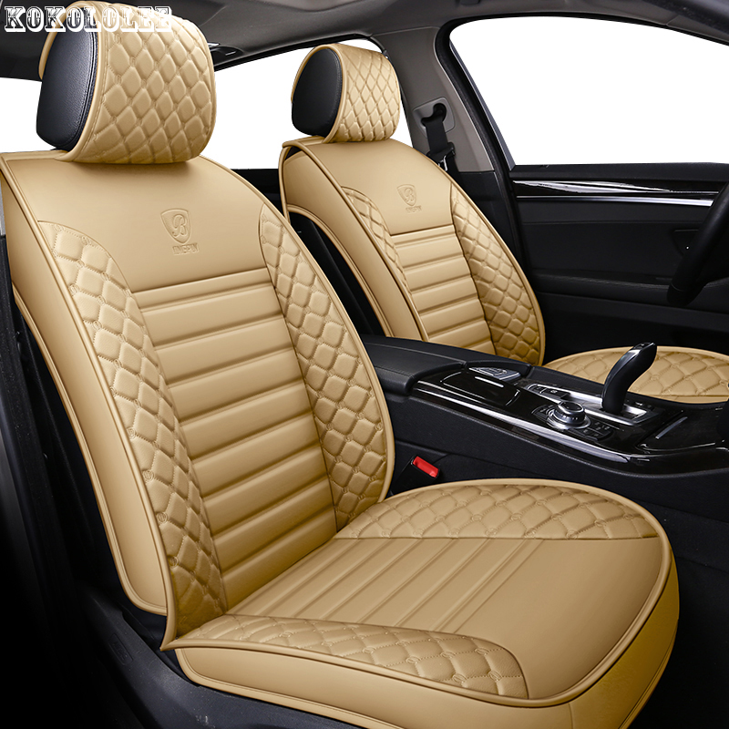 [kokololee] Pu Leather Car Seat Covers For Mercedes W212