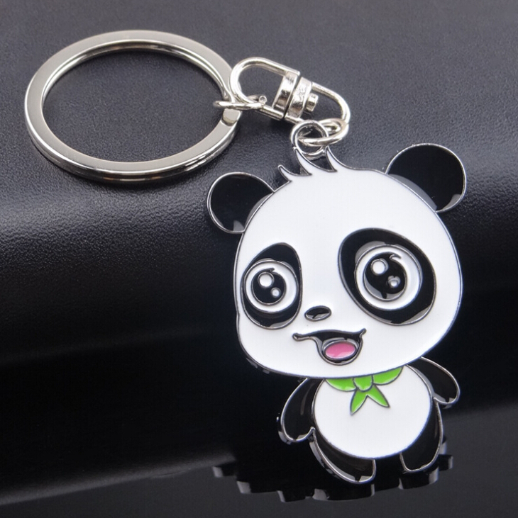 Panda Key Chain New Cute Panda Keychain For Bag Car Key Ring Tourism Souvenir Gifts Key Chains