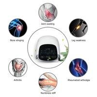 LASTEK умный массажер лечения ревматоидного артрита облегчение боли в колене медицинское устройство для лазерной терапии лазерное портативн