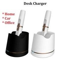 高品質充電器デスク充電器マイクロ USB ケーブルの適切な吸うアクセサリーユニバーサル車デスク充電器 IQOS 2.4 プラス