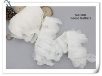Free shipping natural 10m /lot goose Plumage soft small goose Feather Trim for dress/DIY/Craft decoration